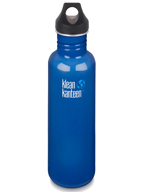 Klean Kanteen Classic 27oz Loop Cap (800 ml) Blue Planet